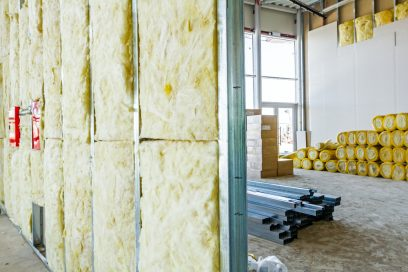 drywall partitioning